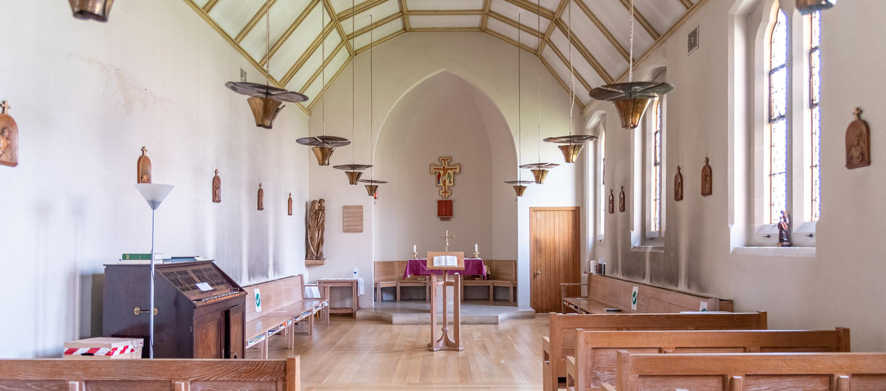 Offices of the day in the Chapel
