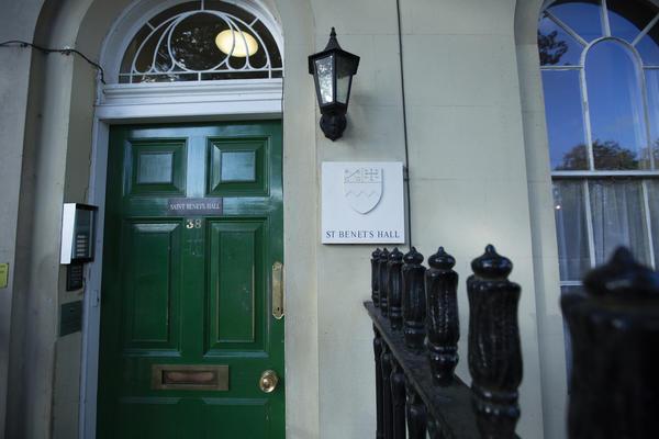 Front door to 38 St Giles'