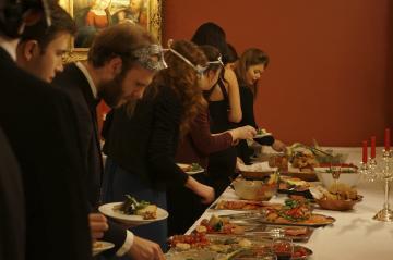 benetian venetian dinner photograph