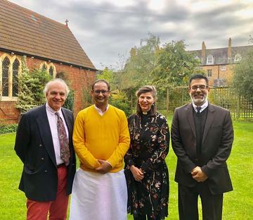 Dr Pandya visit during Diwali
