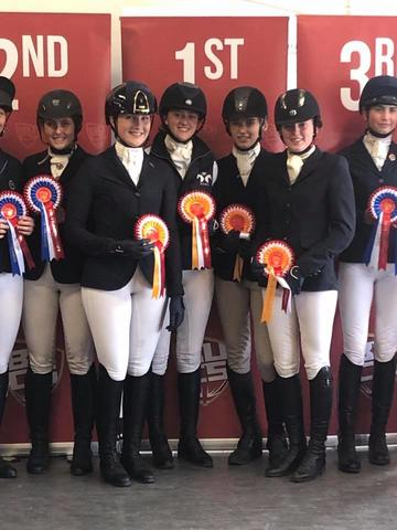 university equestrian success