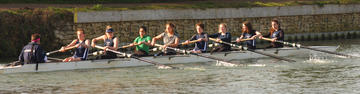St Benet's womens boat rowing